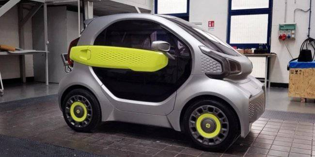 China will print the budget electric car on a 3D printer