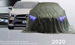 Mercedes has published a teaser for the electric premium sedan EQS