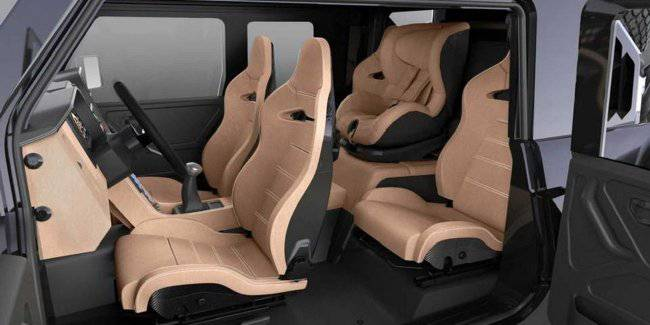 SUV SCG Boot will get the fancy layout of the cabin with a baby seat