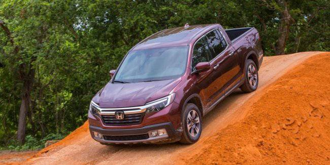 Honda has released an updated version of the pickup of the second generation