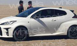 "The appearance of ""hot"" Toyota Yaris declassified before the official premiere"