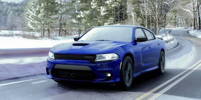 Sedan Dodge Charger GT got four-wheel drive