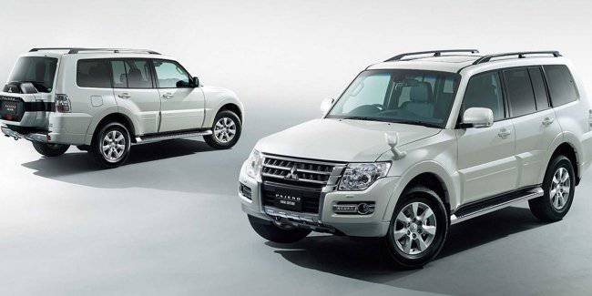 "Mitsubishi Pajero may rise on the platform of ""Nissan patrol"""
