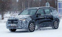 Electric crossover Mercedes EQB caught on tests