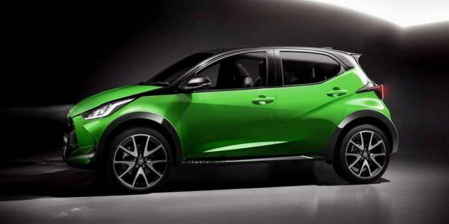 Toyota Aygo hatchback will be higher and will look like a mini SUV