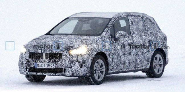 Seen a prototype of the updated BMW 2 Series Active Tourer