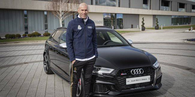 "The players Madrid ""real"" has received new Audi cars"