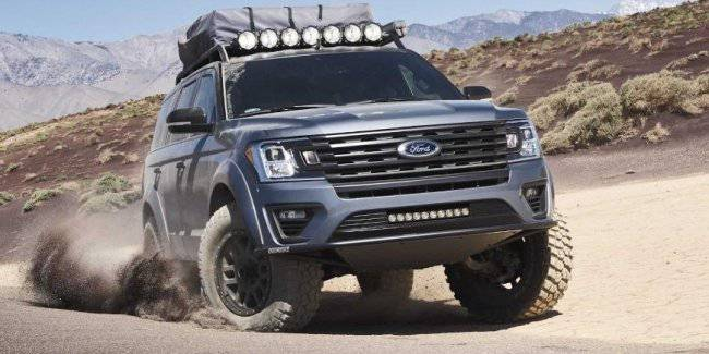 The auction to sell tuning SUV Ford Expedition