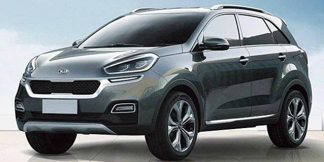 The coming of a new subcompact crossover Kia