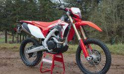 Power Enduro Honda CRF450L doubled