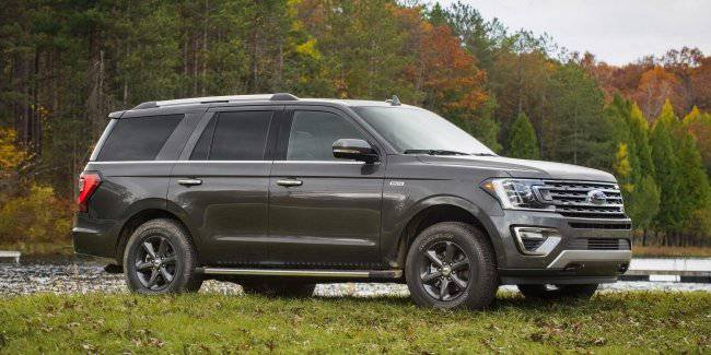 Ford improved the permeability of the Expedition SUV Limited