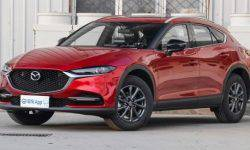 Updated coupe-crossover Mazda CX-4 became the best-selling brand
