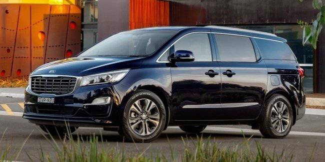 It is now official: a premium minivan was the KIA Carnival, and in the old body