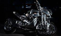 Custom Yamaha Niken has received the award for the craziest bike show