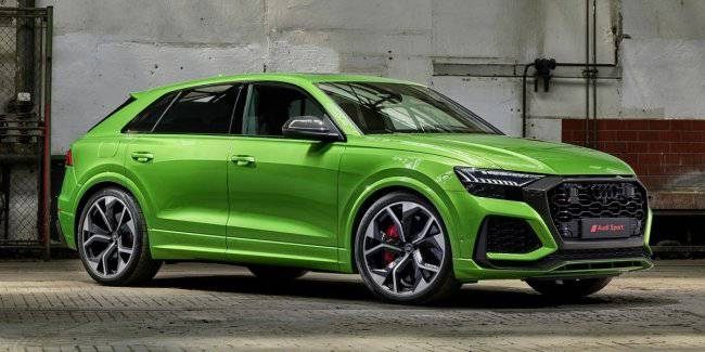 Audi Q8 RS was faster than officially stated