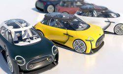 """There were images of the concept car MINI Electric """"Tomboy"""""""