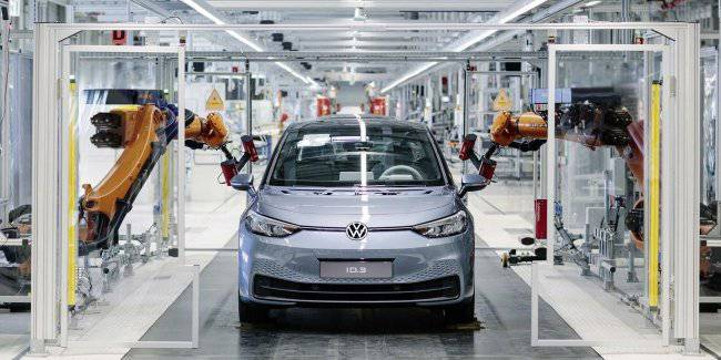 The first problems with the new electric car Volkswagen ID.3