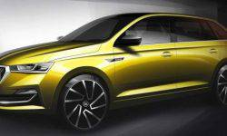 Hatchback Skoda Rapid will be updated after the liftback