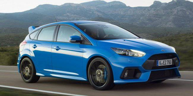 Hot hatch Ford Focus RS will go on electric four-wheel drive