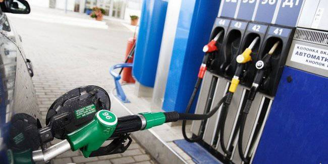 Gasoline prices fell after the meeting Zelensky with the owners of the gas station