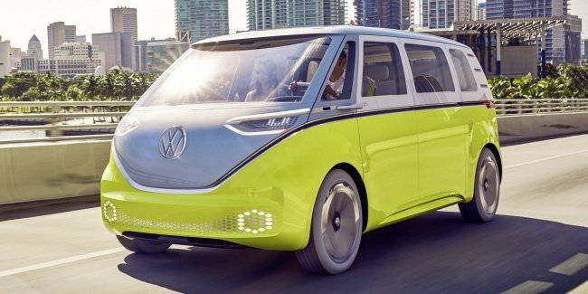 Volkswagen I. D. Buzz is a serial in 2022