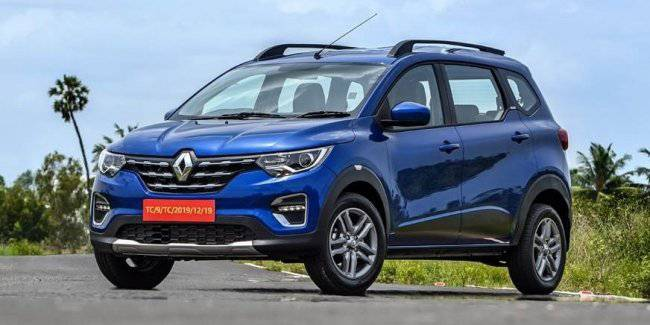 Available compact MPV Renault Triber came to a global market