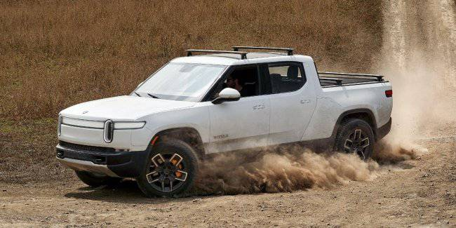 "Rivian has demonstrated a ""tank turn"" your electropica"