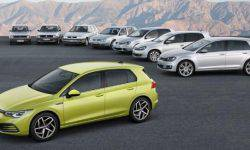Hatchback VW Golf 8 can travel on a single electric range of almost 4 minutes