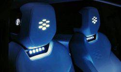 Electric crossover Fisker will get the backlight seats