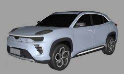 Battery SUV Chery appeared on the patent drawings