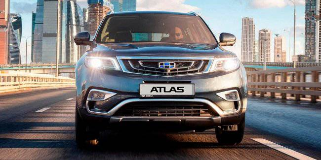 In 2020 Atlas Geely may be deprived of atmospheric engines