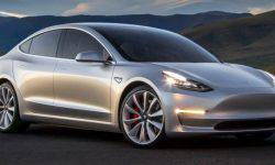 The new electric car Tesla had already discovered rust