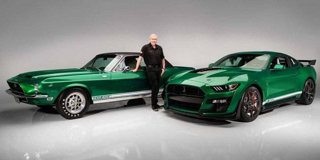 First Ford Mustang Shelby GT500 dedicated prototype 1968
