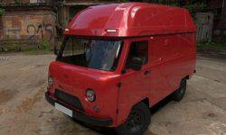 """UAZ wanted to turn the """"Loaf"""" in a house on wheels"""