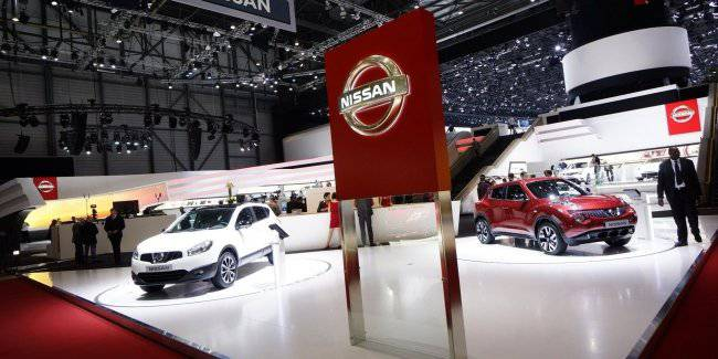 Nissan switches to a mode of the maximum saving