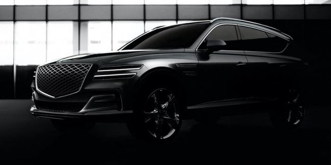 Genesis revealed the appearance of the crossover GV80