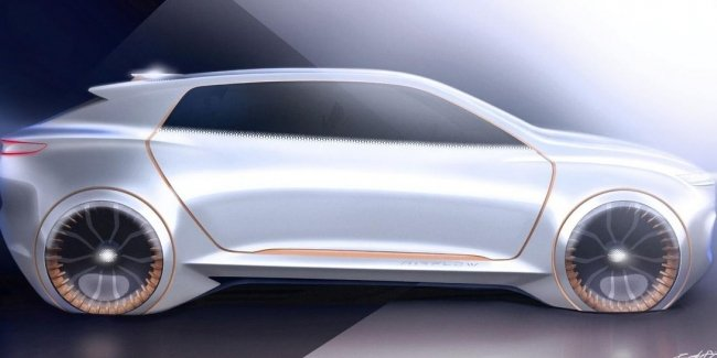 "Chrysler announced the concept with ""premium design"""