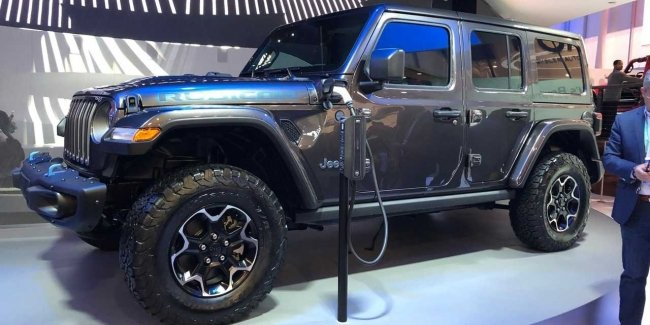 Jeep Wrangler got a hybrid version with charging function
