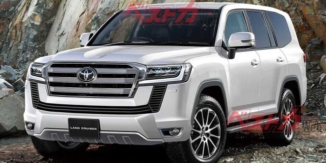 Toyota told about the new Toyota Land Cruiser 300