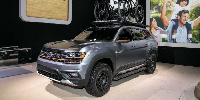 Volkswagen Atlas Basecamp could become a production model