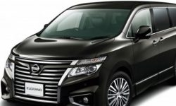 Nissan Motor has released a special version of Elgrand Highway Star Urban Chrome Jet Black