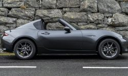 Mazda introduced a new version of Roadster MX-5