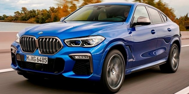 BMW will release a crossover X6 and X7 hydrogen fuel cell