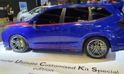 Subaru introduced some strange version of the crossover Forester
