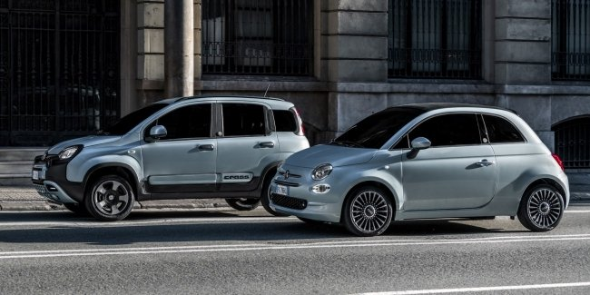 Fiat introduced the first electrified models
