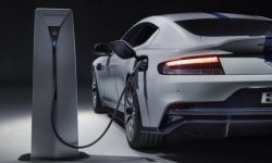 Aston Martin declined to release the first electric vehicle Rapid E