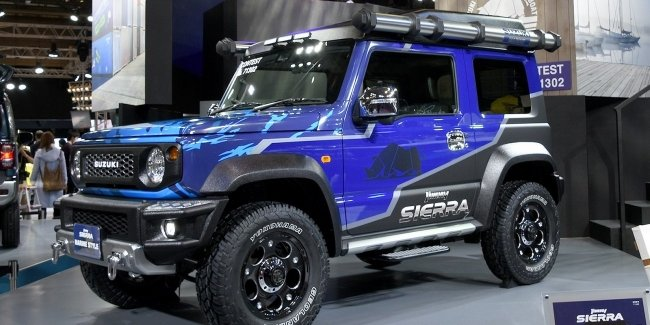 Suzuki made a special version of the Jimny in Tokyo