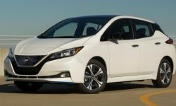 Published prices on the electric hatchback Nissan Leaf 2020