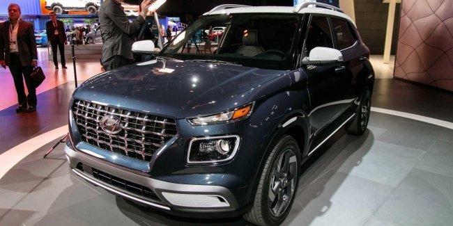 Published prices for crossover Hyundai Venue 2020