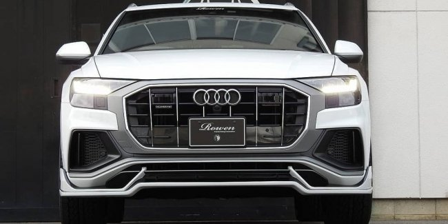 In Tokyo showed tuned Audi Q8